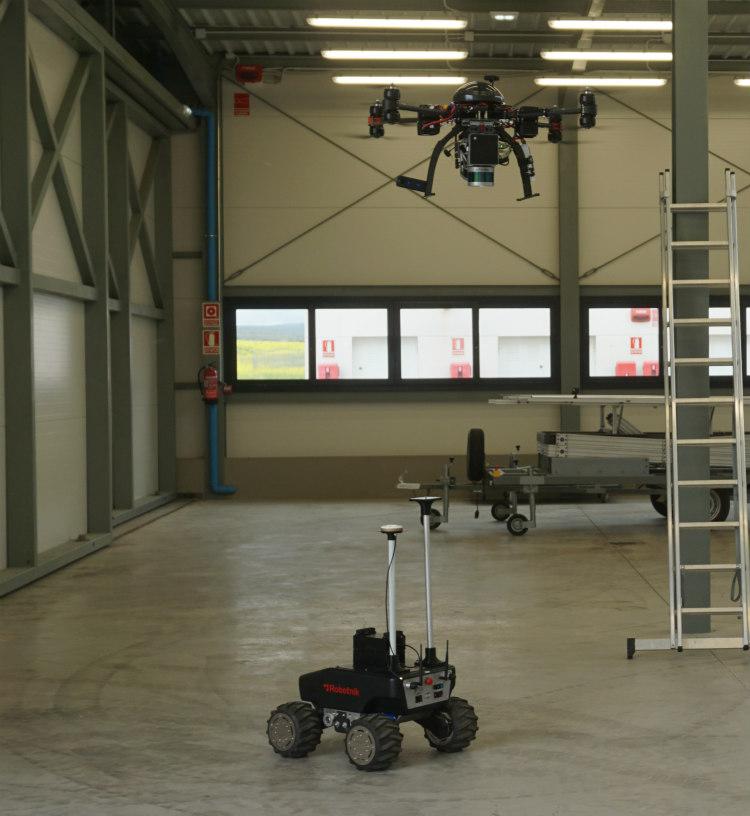Proyecto PANDORA: Drones + LiDAR + Realidad virtual y aumentada aplicada en la construcción