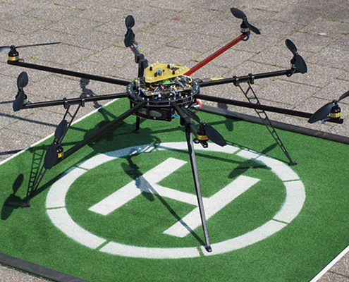 Dron de menos de 25 Kg