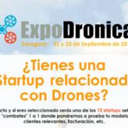 Expodrónica organiza la primera Competición de Startups del sector de los drones