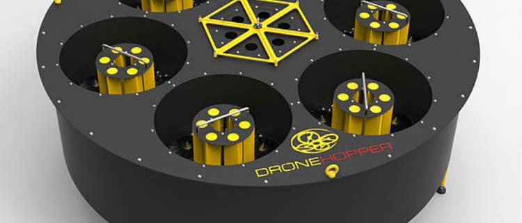 DRONE HOPPER: mejora eficiente en la extinción de incendios