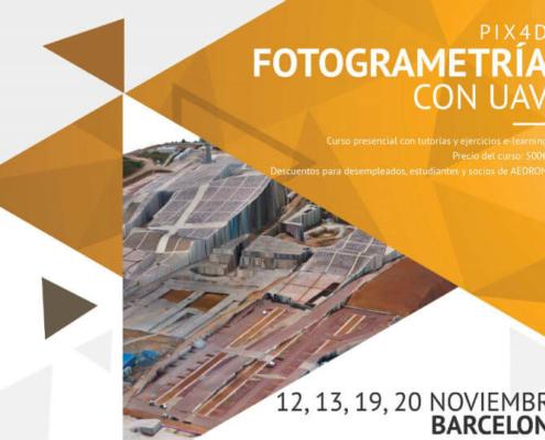 Nuevo curso Pix4D: Fotogrametría con UAVs