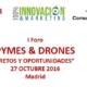 Se celebra el I Foro de Pymes y Drones