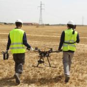 Unión Fenosa revisa líneas eléctricas con drones