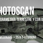 PHOTOSCAN: Fotogrametría Terrestre y con UAVs