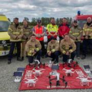 Acuerdo entre DJI y EENA para el uso de drones en servicios de emergencia