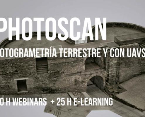 Curso de Photoscan: Fotogrametría Terrestre y con UAVs