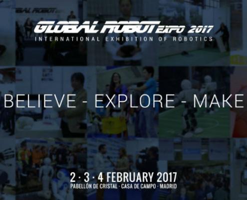 Los drones Airk volarán en Global Robot Expo 2017