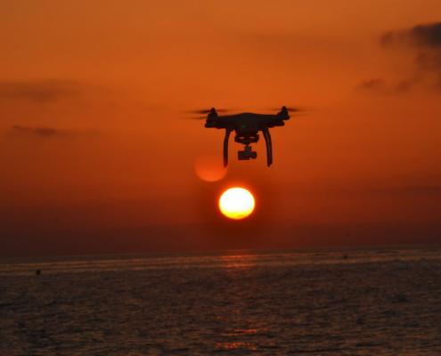 La red de saneamiento de Lorca supervisada por un dron