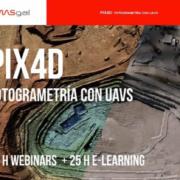 Curso de Pix4D: Fotogrametría con UAVS