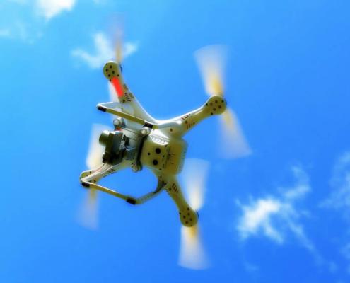 La mensajería con drones ayudaría a reducir las emisiones de carbono