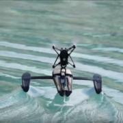Hydrofoil Orak: el minidrone de Parrot para aire y agua
