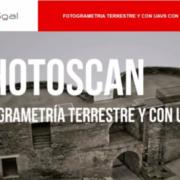 Curso online Photoscan: Fotogrametría terrestre y con RPAS