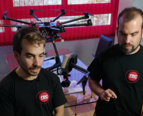 Entrevista a Rec Productions: los drones en el sector audiovisual
