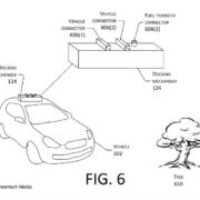 Amazon recargará coches eléctricos en movimiento con un dron