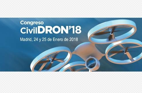 Avance del programa del Congreso CivilDRON 2018