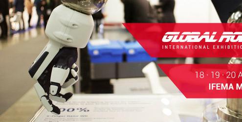 Conferenciantes de talla mundial en la III edición de Global Robot Expo