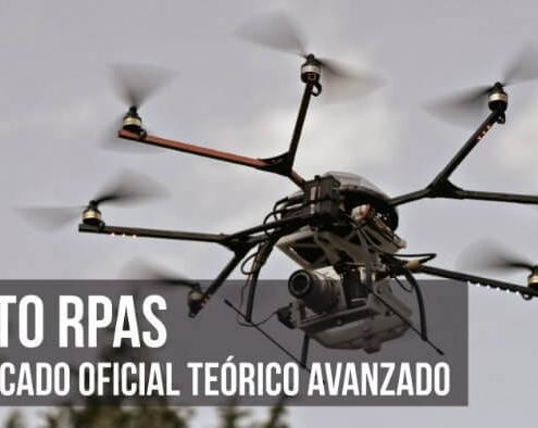Curso Piloto de RPAS: Certificado oficial teórico avanzado