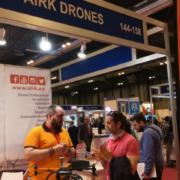 AIRK presenta su nuevo dron Exos en Global Robot Expo 2018