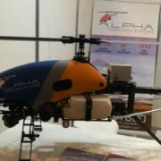 Alpha 800 UAV, el helicóptero de Alpha Unmanned Systems