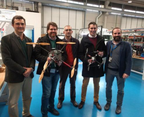 Proyecto SAAIC para la inspección de colectores de saneamiento con drones