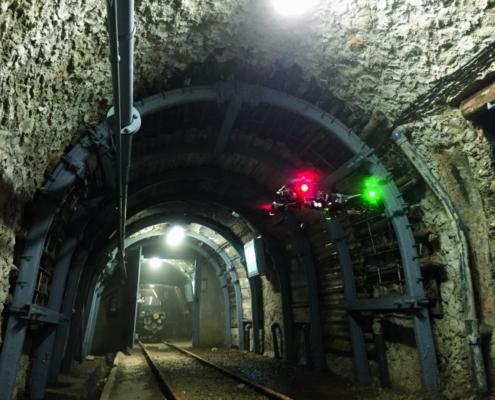 Vuelos subterráneos: Escaneo 3D con drones autónomos en infraestructura subterránea