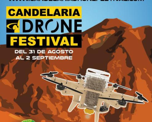 Tercera edición del Candelaria Drone Festival, en Santa Cruz de Tenerife