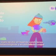 Vídeo informativo de AESA sobre el uso lúdico de los drones