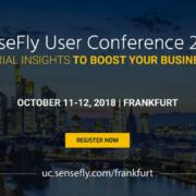 'senseFly Users Conference 2018' sobre drones profesionales, en Frankfurt