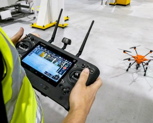 Ford utiliza drones de inspección en su fábrica de Reino Unido