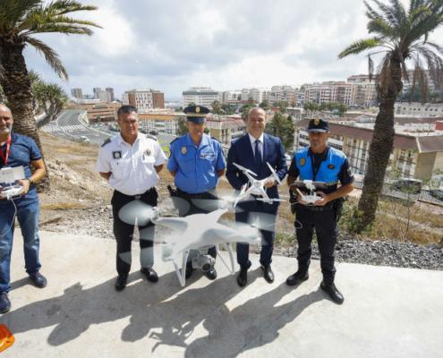 Un dron vigilará el tráfico en Las Palmas de Gran Canaria