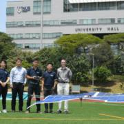 Estudiantes de la Universidad de Singapur crean el primer dron solar de Asia