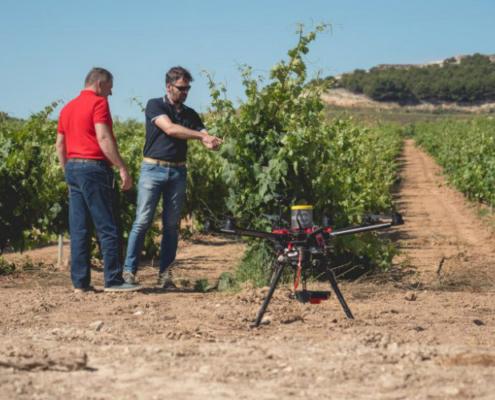 Proyecto con drones e Inteligencia Artificial para Bodegas Protos