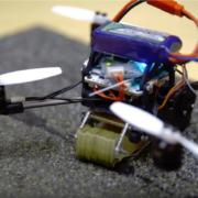 FlyCroTug: el dron que puede levantar hasta 40 veces su propio peso