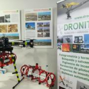 DRONITEC lleva su dron para extinción de incendios hasta secuDrone