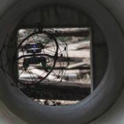 Drones en el sistema de alcantarillado de Barcelona