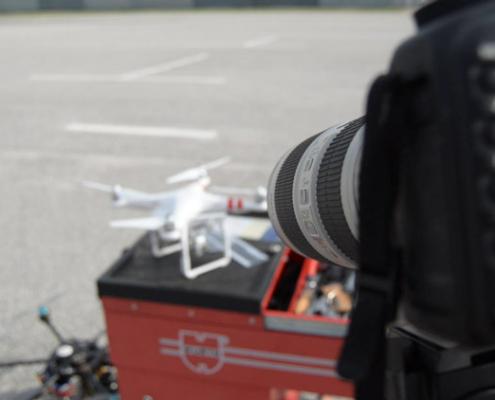 Consideraciones ópticas para el aumento de precisión en fotogrametría e inspección técnica con drones
