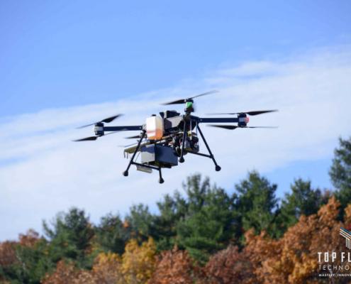 Hyundai y la startup Top Flight se asocian para el desarrollo de drones