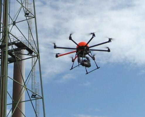 DroneXservices colabora con Comismar para hacer inspecciones con RPAS