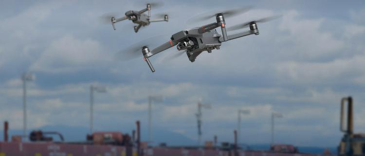 DJI presenta el dron industrial Mavic 2 Enterprise Dual