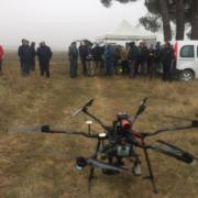 Jornada en Chañe sobre el uso de drones en labores de rescate