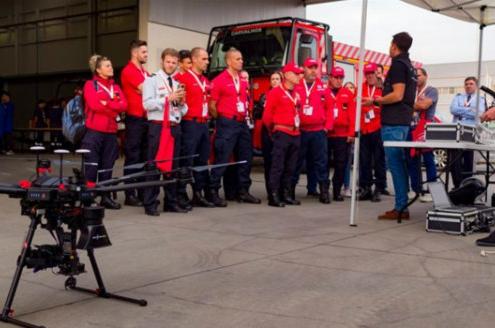 La Diputación de Segovia organiza una jornada sobre el uso de drones para la búsqueda de desaparecidos