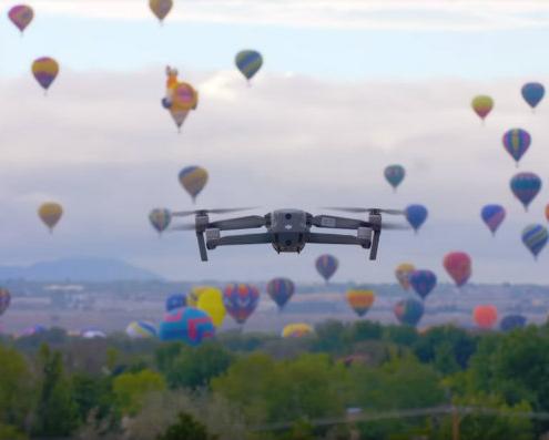 AeroScope para la identificación y rastreo de drones DJI