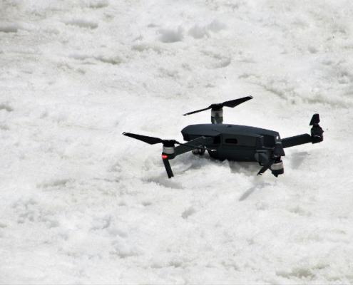 Drones en la Campaña de Vialidad Invernal 2018-2019