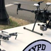 La Policía de Nueva York presenta su nuevo programa de aeronaves no tripuladas