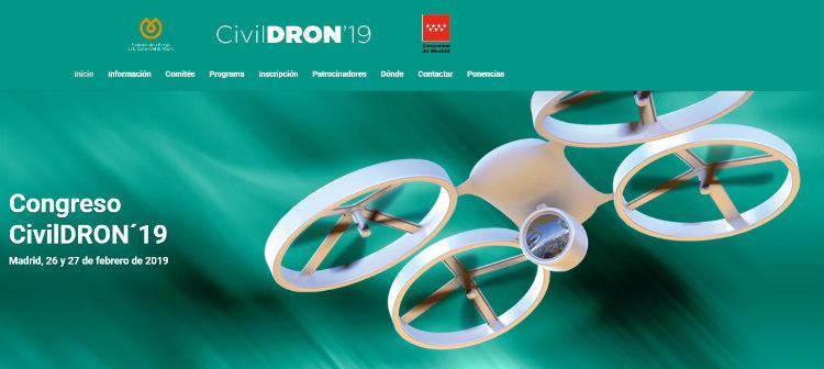 V edición de CivilDRON, el mayor congreso sobre drones de España
