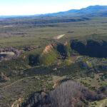 Los drones reconstruyen el mayor complejo aurífero romano del noroeste
