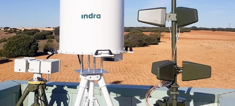 El escudo antidrón ARMS de Indra preparado para proteger aeropuertos