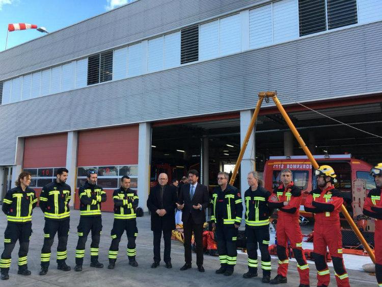 Los bomberos de Alicante adquieren tres drones para intervención en emergencias