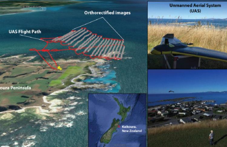 Tellus4D Geoimaging utiliza drones de topografía profesional para cartografiar océanos