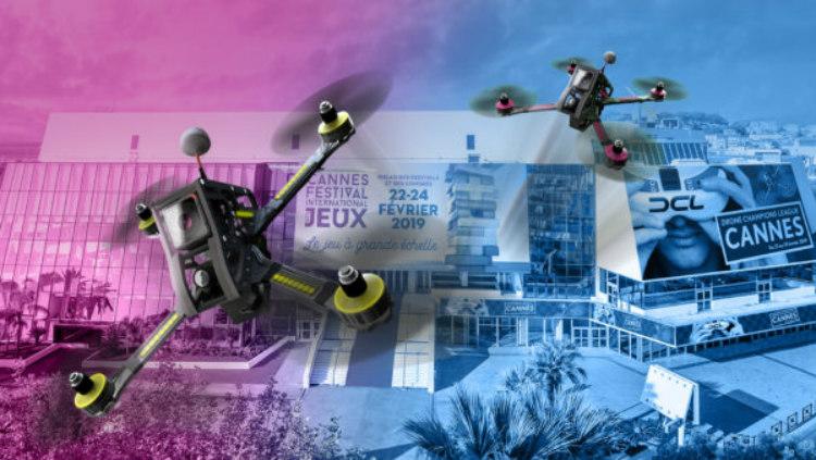 200 gamers compiten por formar parte de la Drone Champions League